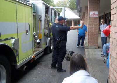 Fire Dept Visits FOF